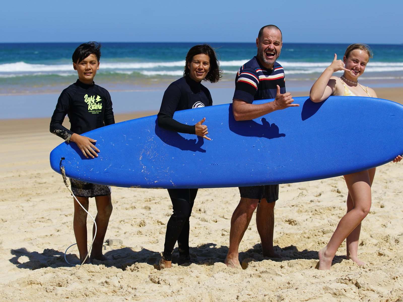 Surfing lessons at South West Rocks