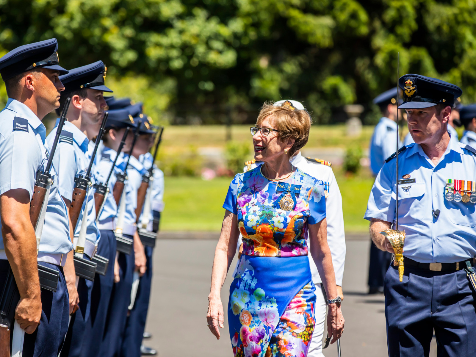 Governor of NSW Margaret Beazley OAM at Salute to Australia
