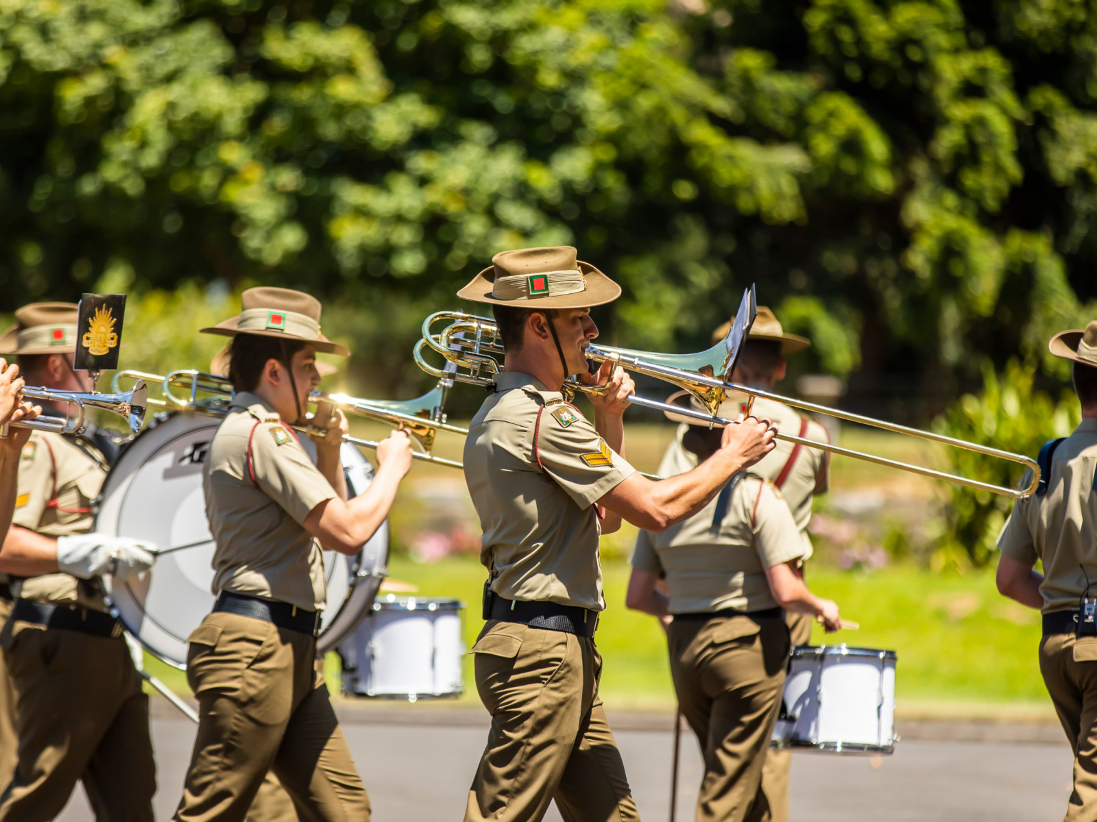 The Australian Army at Salute to Australia at Government House
